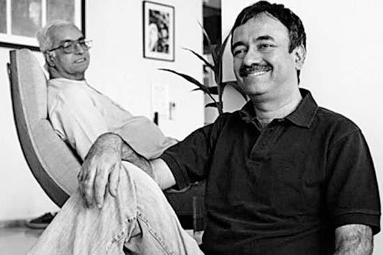 Raju with his father Suresh Hirani